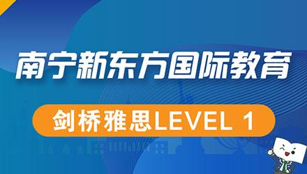 南宁剑桥雅思Level 1培训