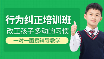 上海行为纠正培训