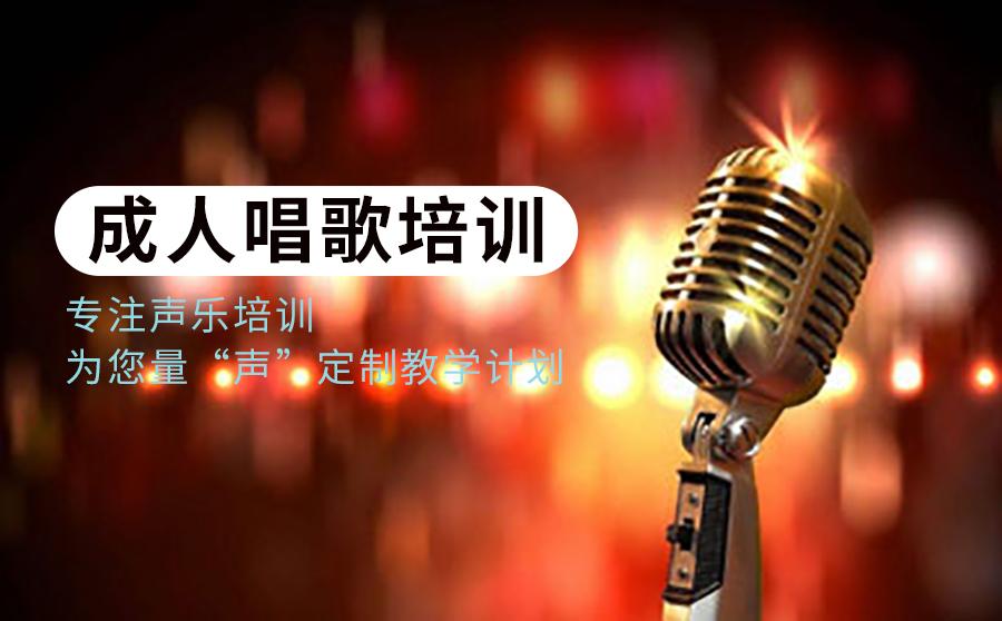 重庆成人唱歌培训