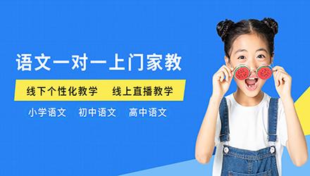 深圳语文一对一上门家教