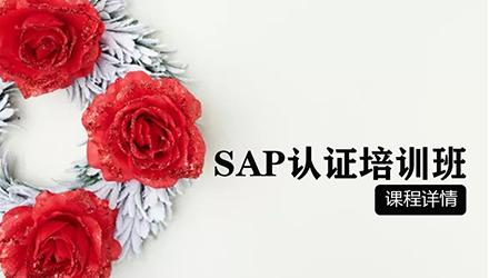 温州SAP认证培训
