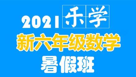 南京乐学新六年级数学暑假班