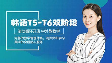 青岛韩语T5-T6双阶段高级课程培训