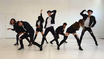 艾诗琳―成人初级爵士舞班