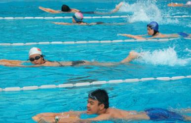 北京游泳组合班