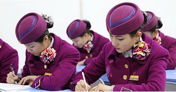 石家庄航空服务中专班