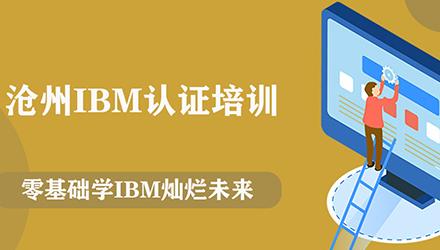 沧州IBM认证培训